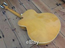 1950s Col Joye Big Body Archtop Semi Acoustic Guitar