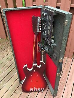 1965 Danelectro Silvertone Guitar & 1457 Amp-In-Case All Tube