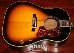 1965 Gibson, J-160E Acoustic Electric Guitar (GIA0773)