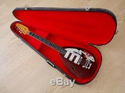 1967 Vox Phantom Mark VI Acoustic Vintage Electric Guitar Cherry Teardrop, Eko