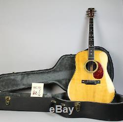 1973 BC Rich B-28 Vintage Acoustic Electric Flattop Guitar Natural withOHSC