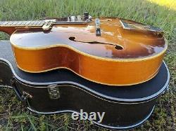 1978 Aria Pro II PE-190 Robert Conti Model Archtop Jazz Guitar Factory DeArmond