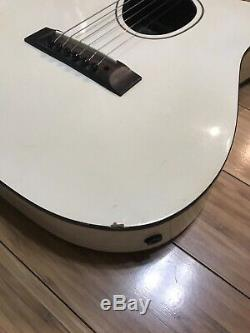 1980s Kramer Ferrington Acoustic Electric Guitar 6 String White RARE # FB 8665