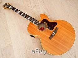 1996 Gibson EC-30 Blues King Electro Acoustic Electric Guitar Flame Maple withohc