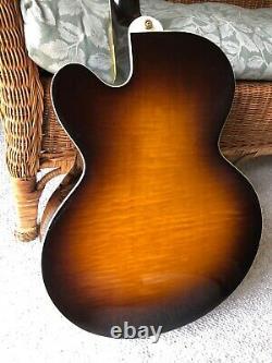 2001 Gibson J-190 EC Super Fusion, Tobacco Sunburst, Jumbo Acoustic Guitar