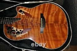 2001 Redwood Ovation Collector's Series Guitar with OHSC