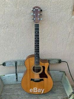 2001 Taylor 314ce Acoustic/Electric Guitar NICE ORIGINAL Awesome Player! Withcase