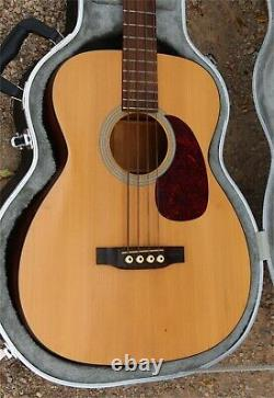 2002 Martin B-1 Acoustic / Electric Bass Guitar B1