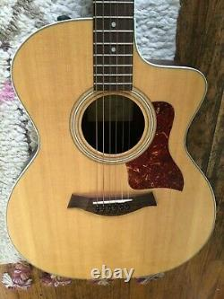 2008 Taylor 214ce Grand Auditorium Acoustic Guitar withPadded Case