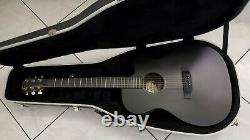 2009 Martin 000CXE Matte Black Finish Auditorium Acoustic-Electric Guitar withCase