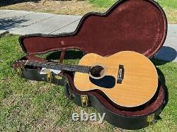 2014 Martin Grand J-28 LSE Lefty Left Handed Acoustic Guitar Baritone