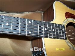 2014 Taylor 214ce Acoustic Electric Guitar Exc-Mint