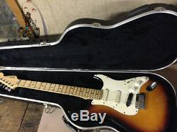 93-94 FENDER Sunburst American Stratocaster Plus Guitar withCase (USA Strat+)