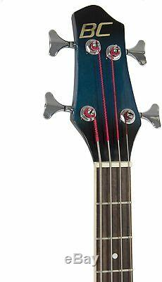 Acoustic Electric Bass Guitar 4 Strings Instrument 4 Band Equalizer Truss Rod