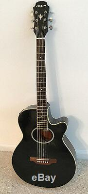 Acoustic Electric Guitar made by Aria