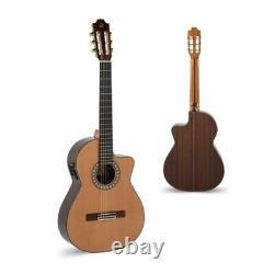 Admira Spanish Acoustic / Electric Classical Guitar Virtuoso-ECF Fishman Pickup