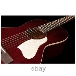 Art & Lutherie Roadhouse Acoustic / Electric Parlor Guitar Tennessee Red