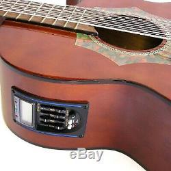 Barraza BZBS101E Mariachi 12-String Bajo Sexto Acoustic Electric Guitar