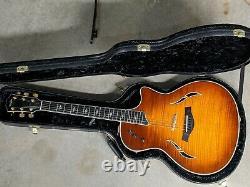Beautiful Taylor T5-c1 T5c1 Acoustic Electric Flame Top Custom Guitar