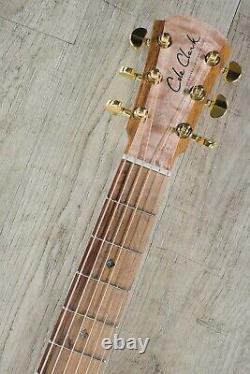 Cole Clark Angel 2 Series Auditorium Acoustic-Electric Guitar, Redwood (E-STOCK)