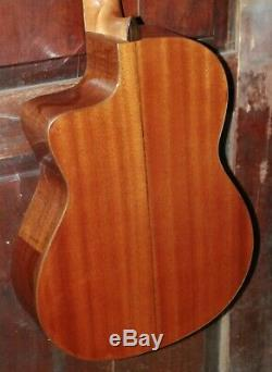 Cordoba C5-CE Cutaway Acoustic-Electric Classical Nylon String Guitar withBag