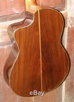Cordoba GK Pro Negra Nylon Acoustic Electric Flamenco All Solid Wood Guitar &HSC