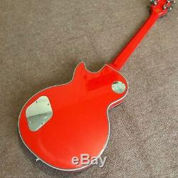 Custom 1960 Solid Red Corvette Inlay LP Electric Guitar FREE SHIPPING