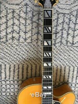 DAngelico NYL2 Vestax Japan Handmade Archtop Jazz Semi Acoustic Electric Guitar