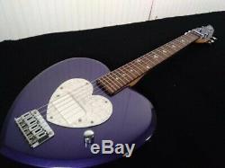 Daisy Rock Electric Guitar Heartbreaker with soft case rare beautiful Japan