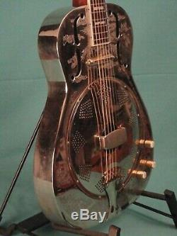 Dean Chrome G Gold Acoustic/electric Resonator Guitar
