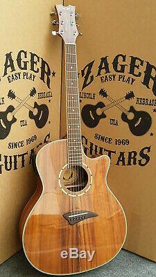 Dean EKOA Acoustic Electric Guitar, Easy Play made, rare collection
