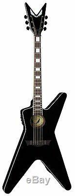 Dean ML Acoustic-Electric Guitar, Classic Black