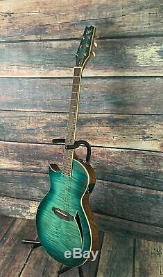 ESP/LTD Left Handed TL-6 Acoustic Electric Thin Body Guitar- Marine Burst