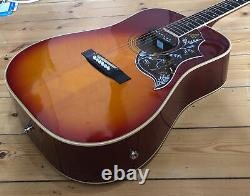 Electro Acoustic Guitar Hummingbird MIJ BM Vigo Post Lawsuit 70's Japan Japanese