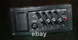 Electro Acoustic Guitar Pre-amplifier Eq Vol-tone Black Colour