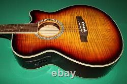 Electro Acoustic Guitar Pre-amplifier Eq Vol-tone Sunburst Tiger