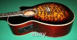 Electro Acoustic Guitar Pre-amplifier Eq Vol-tone Sunburst Waves Colour