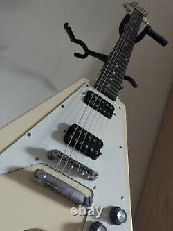 Epiphone 1958 Korina Flying V Electric Guitar - Cream Limited Edition