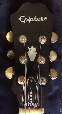 Epiphone Electric Acoustic Guitar Model# PR-5E by Gibson Serial# SM03080215