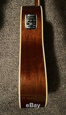 Epiphone Masterbilt DR-500MCE Acoustic/Electric Guitar withNew Gator HSC
