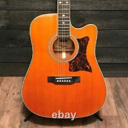 Epiphone Masterbilt DR-500MCE Natural Acoustic-Electric Guitar