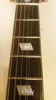 Epiphone Riviera P93 Semi Acoustic Electric Guitar Bigsby Tremolo 3x P90 Pickup