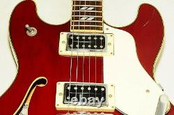 Excellent Aria Pro II TA-800 Semi-Acoustic S Serial Electric Guitar Ref. No 3161