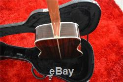 Factory custom SR-MAC-D45 Electric Acoustic Guitar With Solid Spruce Fishman EQ