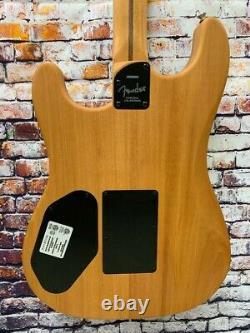 Fender American Acoustasonic Stratocaster Acoustic Electric Guitar- Sunburst- D2