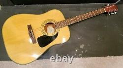 Fender Dg-8 Nat Acoustic Guitar With Nylon Case 41 X 17 X 7 Right Handed