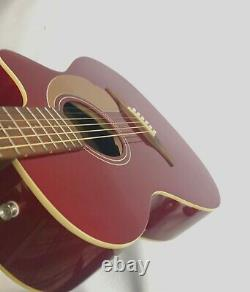 Fender Newporter Player California Series Acoustic Guitar Candy Apple Red Fi