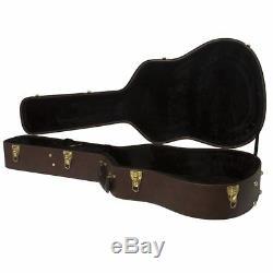 Gibson Dreadnought HardShell Acoustic Electric TKL Guitar Case 4A J45 Dove SJ AJ