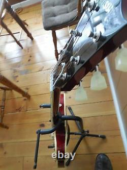 Gibson L-9 Arch top Guitar Ser# 0002 Tiger Stripe Red Sunburst Rare Amazing Ax