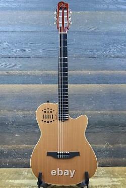 Godin Multiac ACS Slim Nylon Natural SG SF El-Classical Guitar withBag #19102101